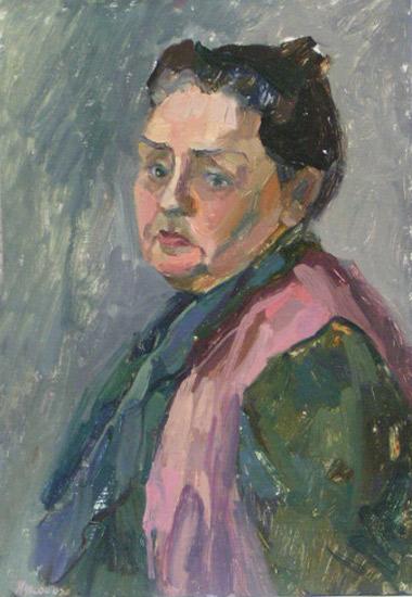 Живопись портрет масло портрет